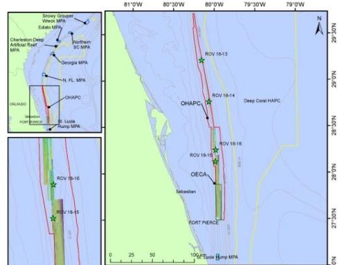 NOAA CIOERT cruise report South Atlantic MPAs and Oculina HAPC: Characterization of Benthic Habitat and Biota NOAA Ship Pisces Cruise 17-02